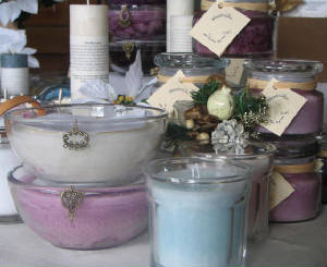 Premium retail and wholesale scented candles