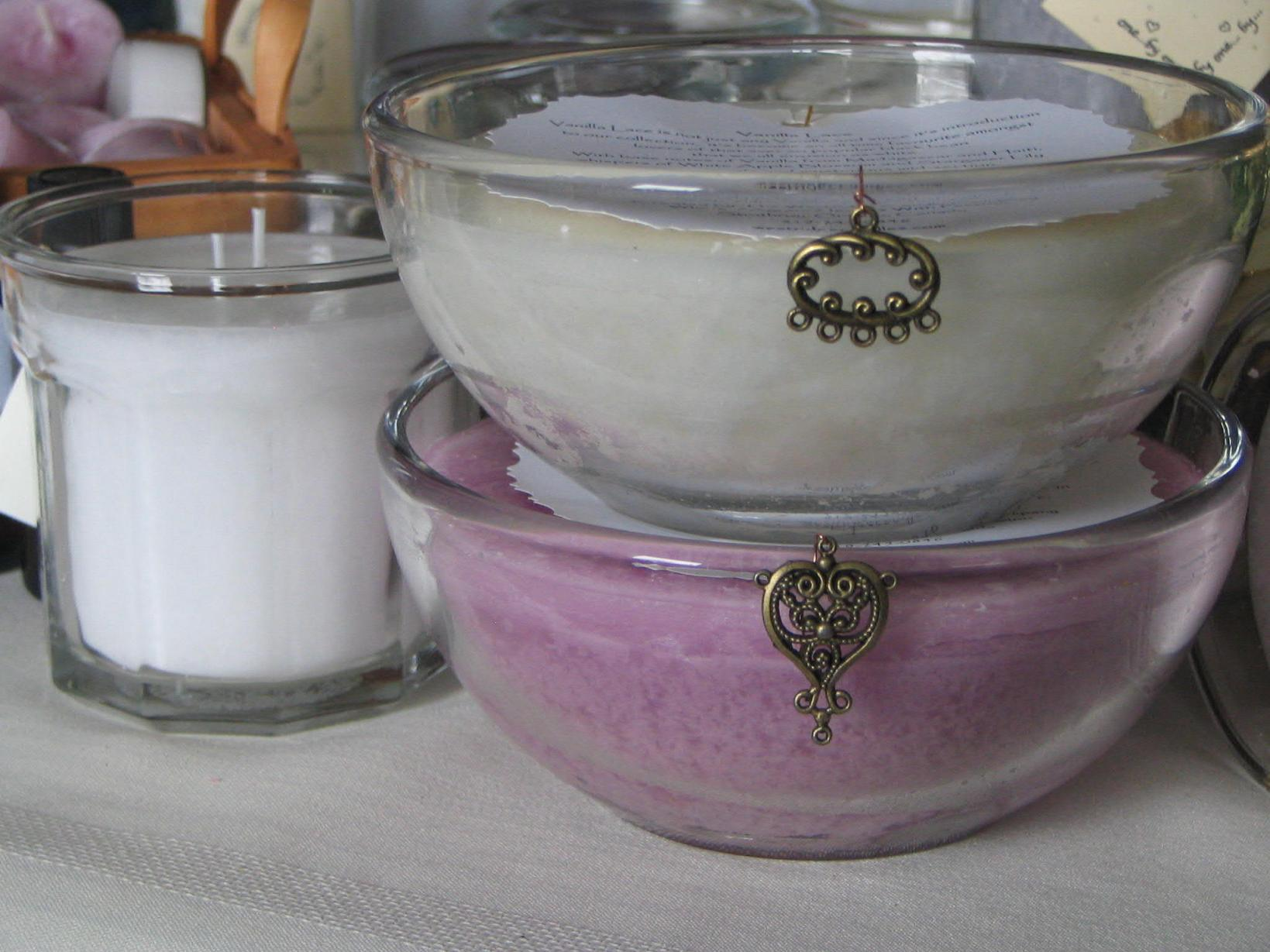 Highly aromatic wholesale scented candles