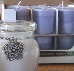 Highly aromatic boutique votives - 18 per box